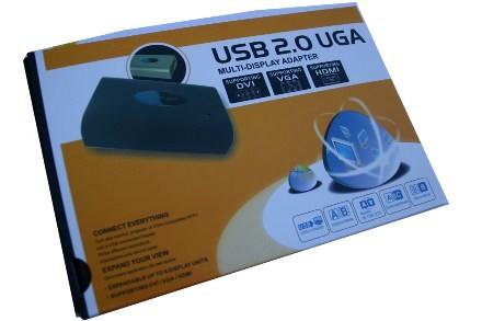 USB TO DVI VGA HDMI GRAPHICS CARD CONVERTER watch laptop or MAC on TV