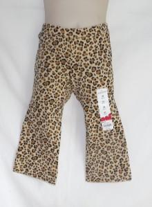 Jumping Beans Girls Brown Leopard Print Elastic Waist Pull on Pants