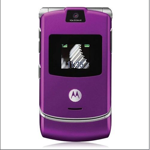 new motorola razr v3 at t t mobile gsm phone 10 colors. Black Bedroom Furniture Sets. Home Design Ideas
