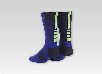 Nike Elite Socks Sequalizer Blue
