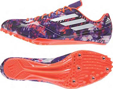 best service bc5ec 6c402 Adidas Adizero Prime Finesse Track  Field Shoes Spikes Mens 6.5 Womens  7.5