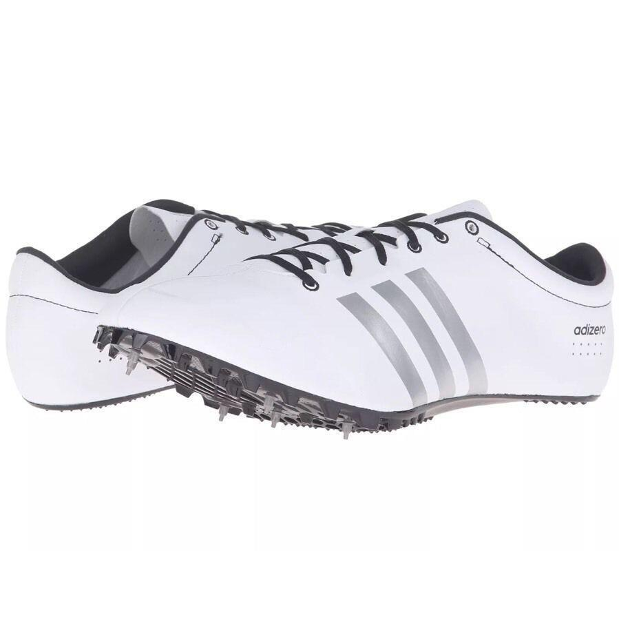 56fad1d897b4 Adidas Adizero Prime SP Sprint Track   Field Shoes Spikes Various Sizes  White