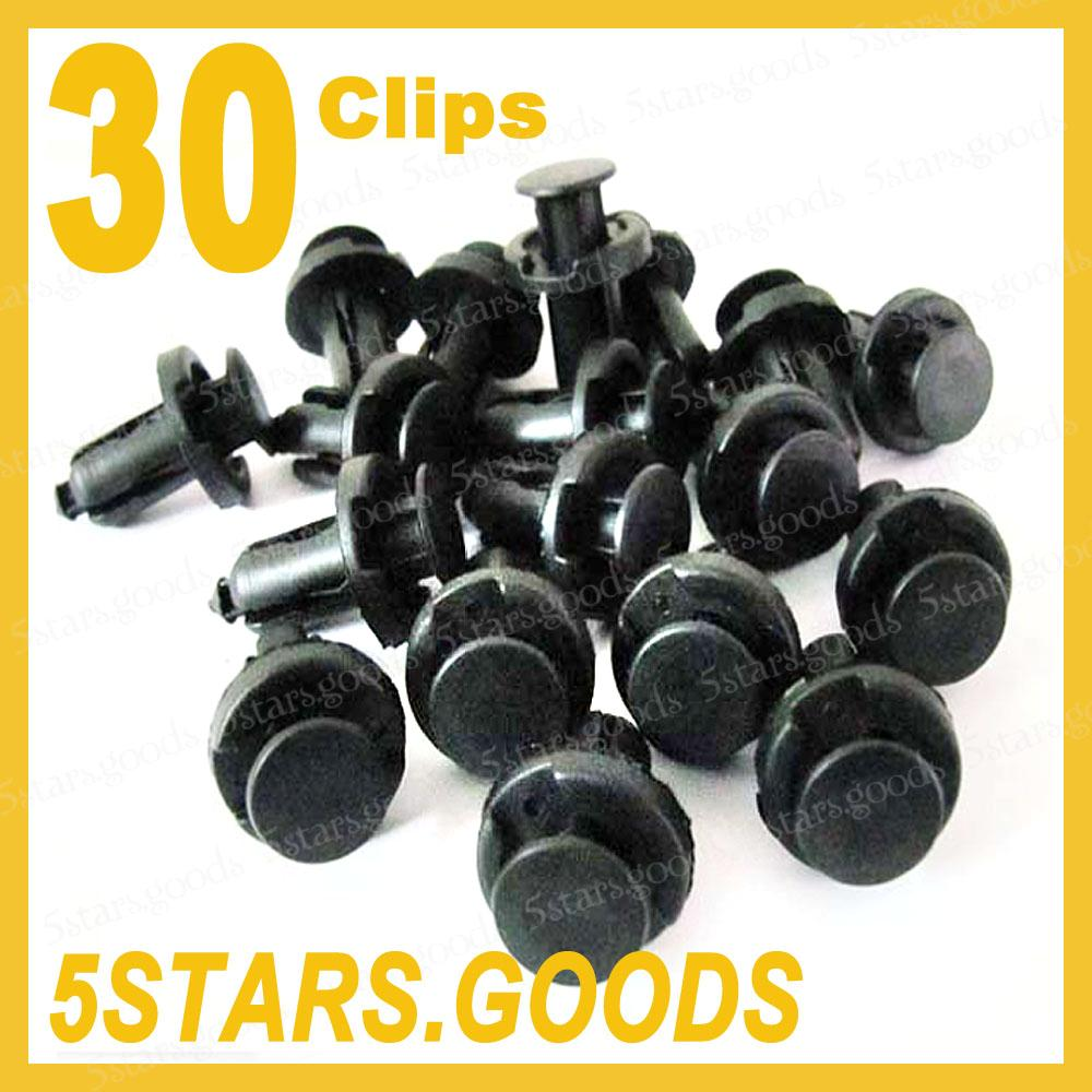 Front Rear Bumper Retainer Clips For Honda Acura Civic