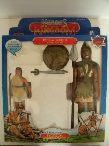 Vtg Heroes of the Kingdom David & Goliath Action Figures ... |David And Goliath Action Figures