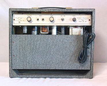 Vintage Sears Silvertone Model 1481 Tube AMP Amplifier ...