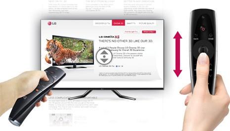 Genuine LG AN-MR300 Magic Motion Remote Control for 2012 LG