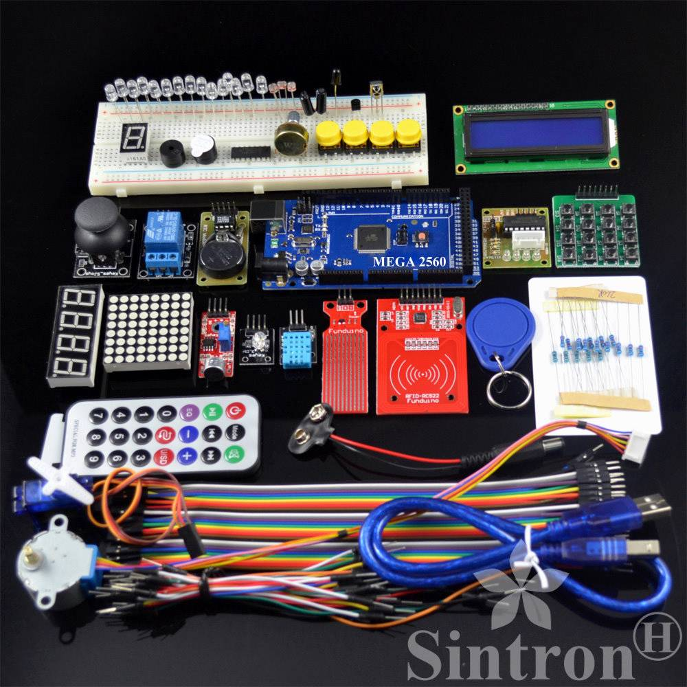 Sintron Motor LCD Servo Module for Arduino AVR Starter MEGA 2560 Upgrade Kit