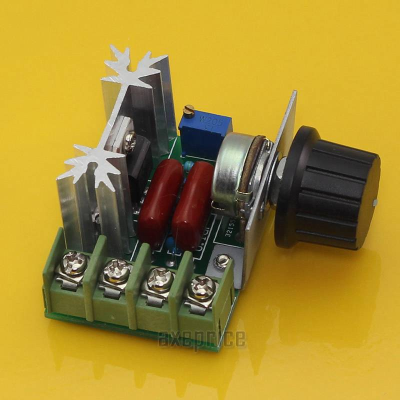 1000w adjustable voltage regulator ac motor speed control for Small variable speed ac electric motors