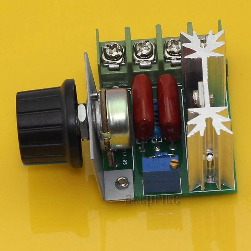 1000w adjustable voltage regulator ac motor speed control