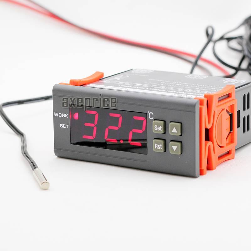 digital temperature probe dc 12v led digital temperature controller temp sensor thermostat