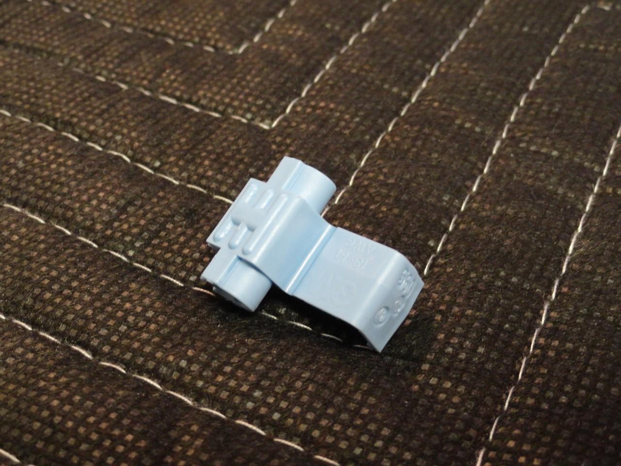 Flame Retardant 16-14 AWG USA Blue Scotchlok Electrical Double Run or Tap