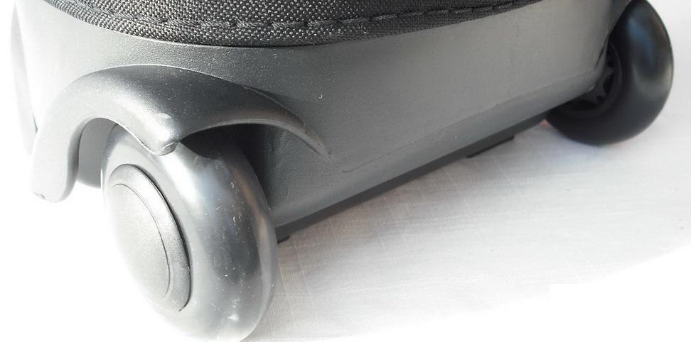 Grey A99 Travel Mate Hybrid Golf Bag Hard Case Wheels Black Red