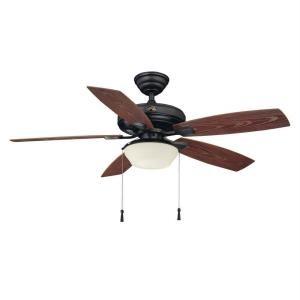 Hampton Bay Gazebo Ii Plus 52 Quot Outdoor Ceiling Bronze Fan
