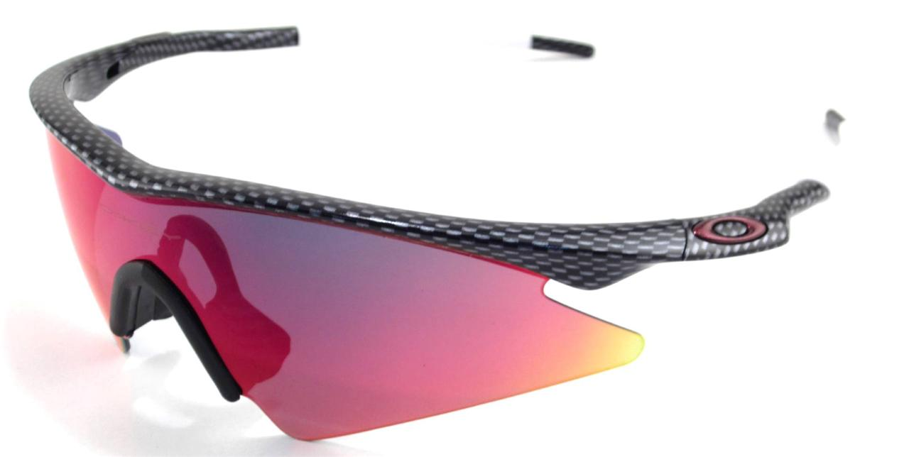 New Oakley Sunglasses M Frame Sweep Carbon Fiber w/Ruby ...