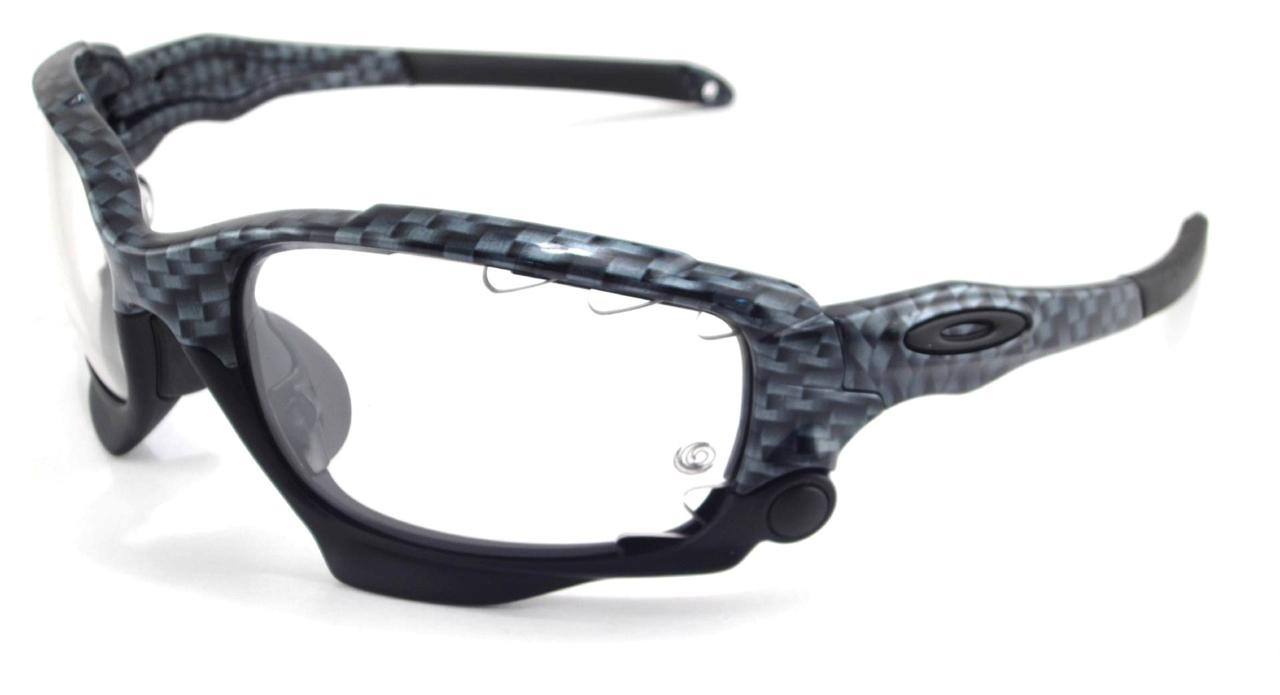 New Oakley Sunglasses Racing Jacket Carbon Fiber ...