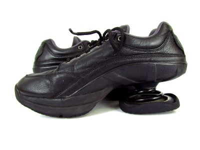 Tennis Shoes With Springs