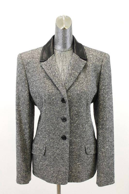 Find womens grey tweed blazer at ShopStyle. Shop the latest collection of womens grey tweed blazer from the most popular stores - all in one place.