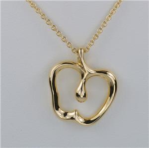 Elsa peretti tiffany co 18ct gold apple pendant 47 grams vintage elsa peretti tiffany co 18ct gold apple pendant 47 grams vintage necklace 16 aloadofball Gallery