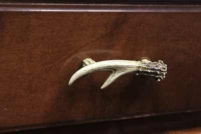 new 4 5 quot deer antler cabinet kitchen bathroom drawer pull 87946