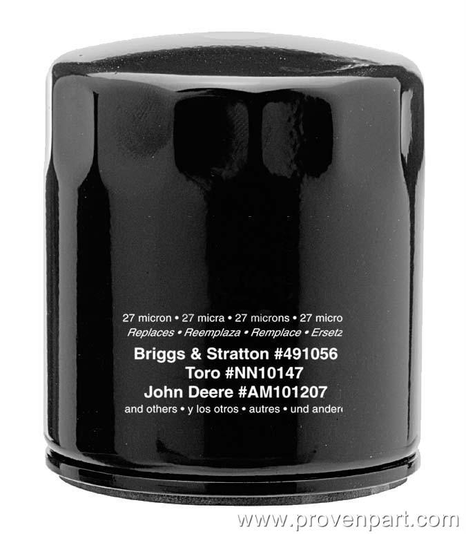 491056 oil filter replaces briggs stratton pp83283 ebay. Black Bedroom Furniture Sets. Home Design Ideas