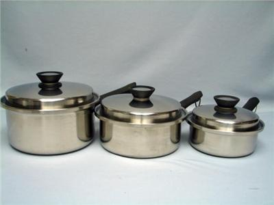 12 Pcs Amway Queen Multi Ply 18 8 Stainless Steel