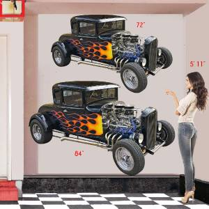 Giant Custom Wall Vehicle Sticker Decal Of Your Vintage