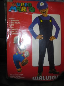 NEW-Child Dress Up Mario Brothers Costume-Mario-Luigi ...Waluigi And Wario Costumes