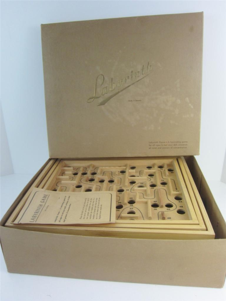 Original Brio Labyrinth Maze Game Abercrombie Fitch Excl