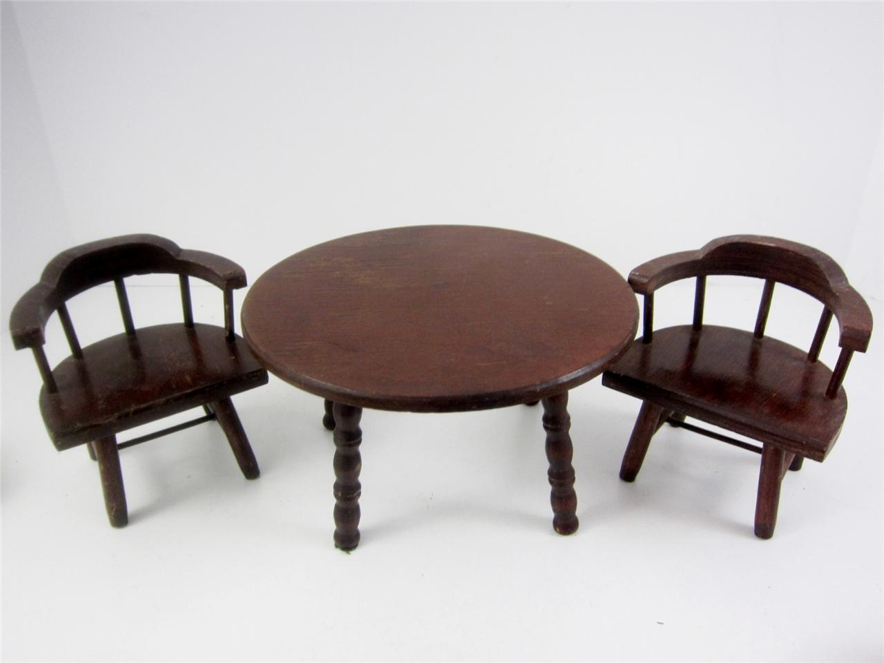 Hall S Lifetime Toys Dining Table 2 Captain Chairs 8
