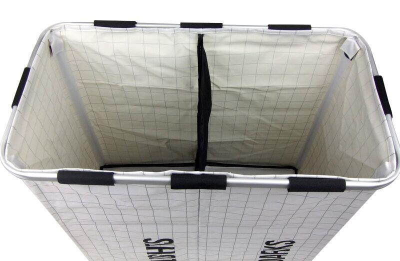 Laundry Hamper Lights Amp Darks Folding Twin Sorter Large