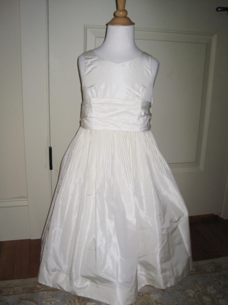 2e8dd48ea8 J CREW Crewcuts Silk Taffeta Avery Dress NEW  188 Flower Girl ...
