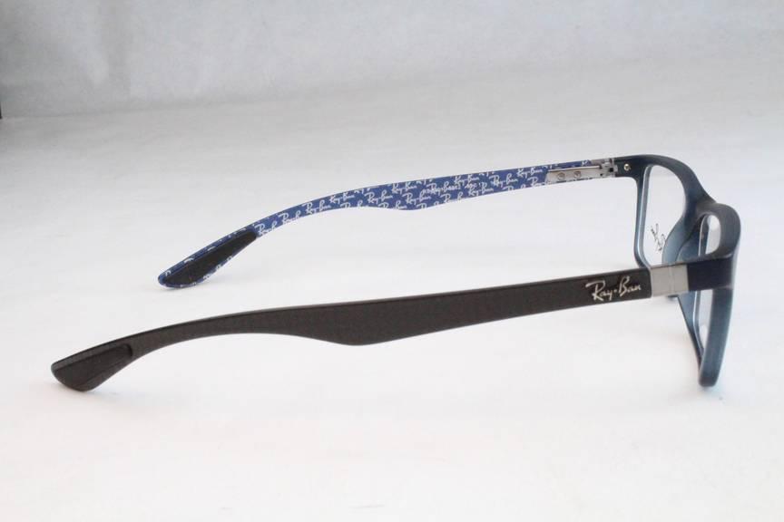 9320612c92 New Ray Ban RB8901 RB 8901 Eyeglasses Frames Blue Carbon Fiber 5262 53mm