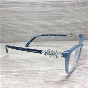 77dde91a874 Tiffany   Co. TF 2144-H-B 2144 HB Eyeglasses Opal Blue 8220 ...