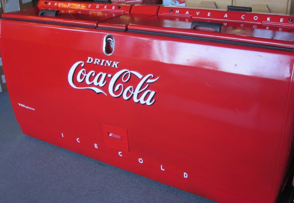 Vintage Original Westinghouse WE 6 Coca Cola by ...  Old Coca Cola Coolers