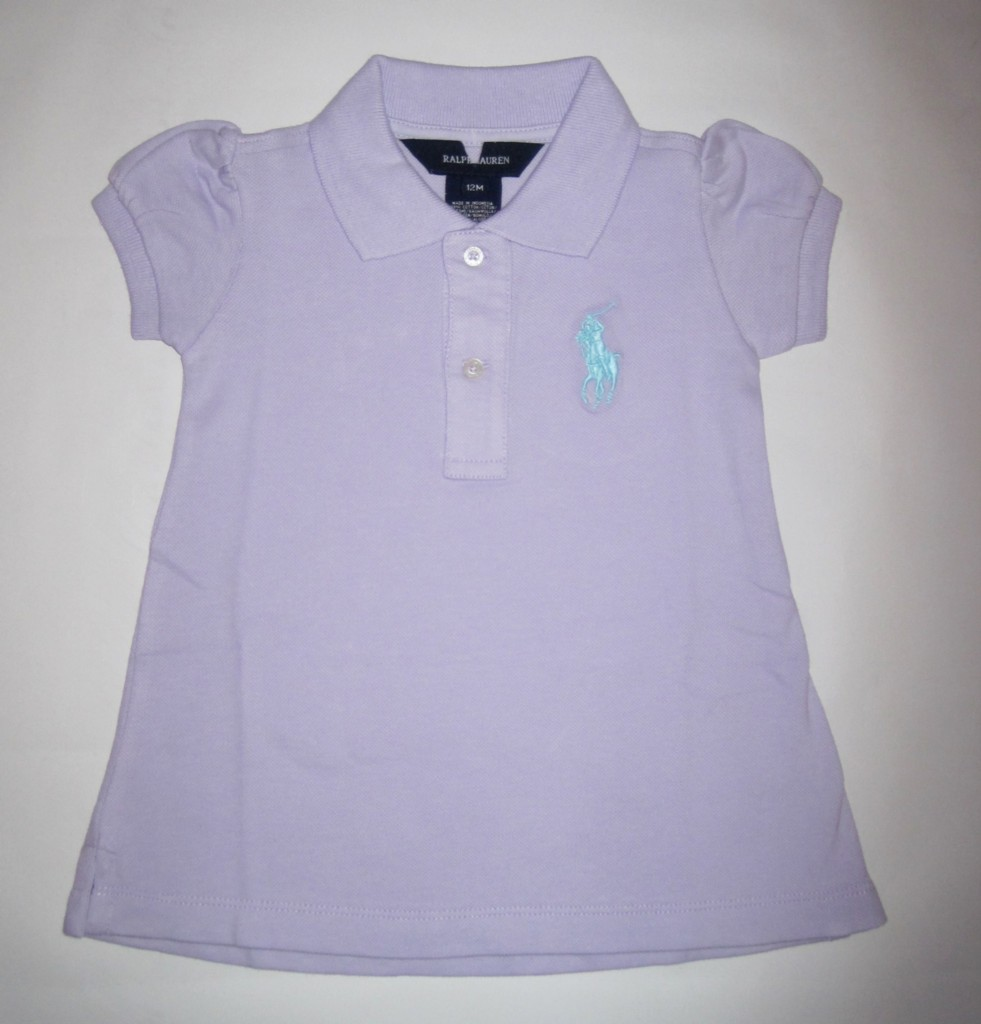mega sale new baby girls polo ralph lauren pony dress ebay. Black Bedroom Furniture Sets. Home Design Ideas