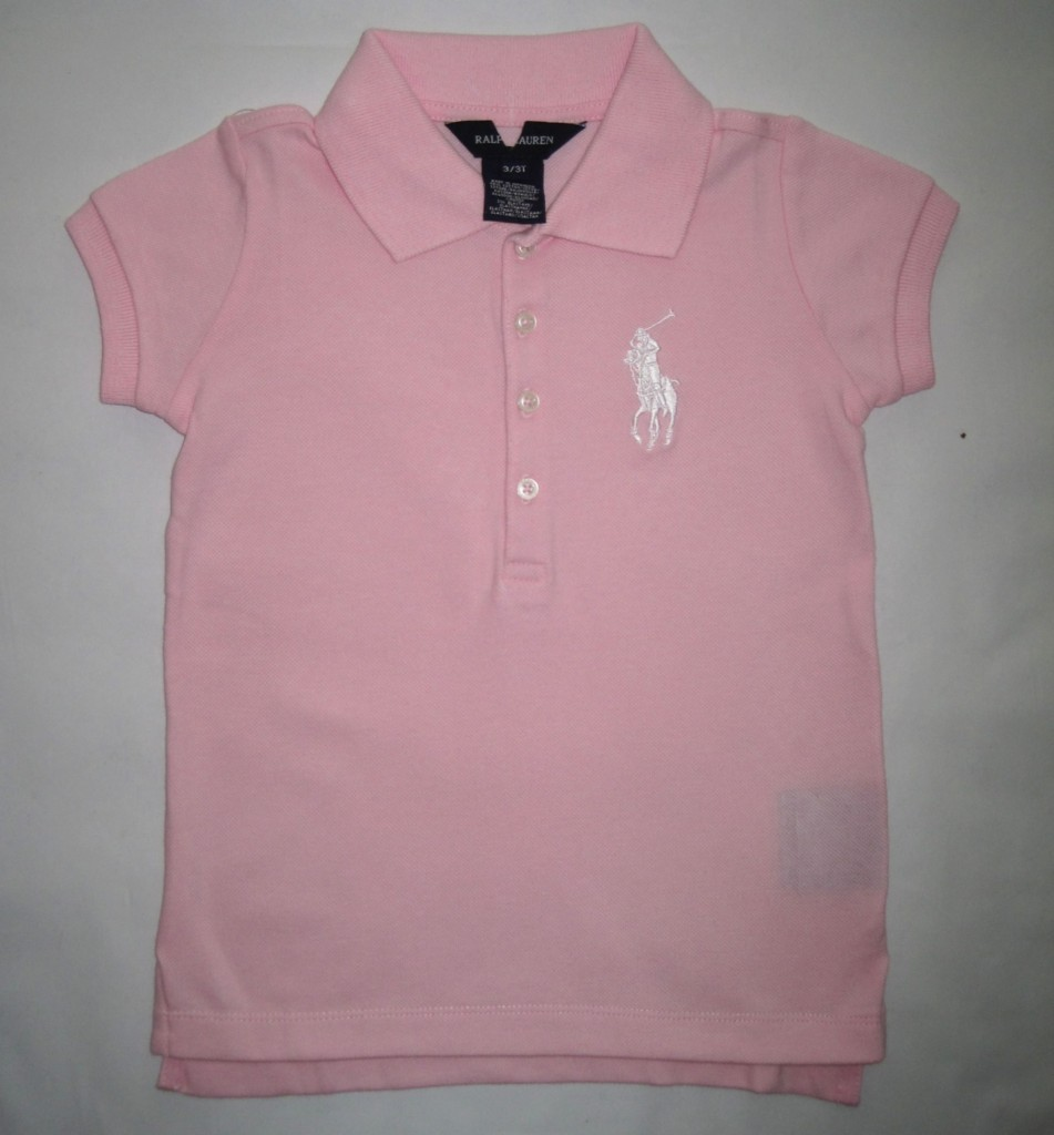 sale new girls ralph lauren designer polo top shirt ebay. Black Bedroom Furniture Sets. Home Design Ideas