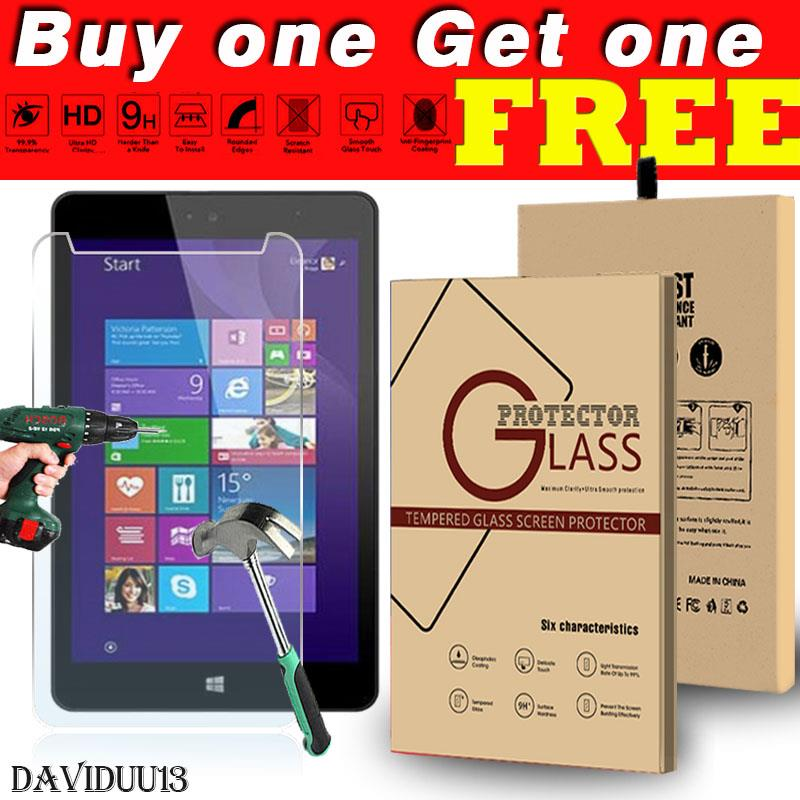 Details about Genuine Tablet Tempered Glass Screen Protector Cover For Linx  8