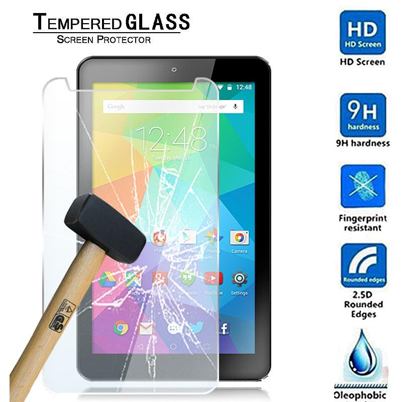 """Tablet Tempered Glass Screen Protector Cover For 7/"""" GoTab Lite GT7 Android"""