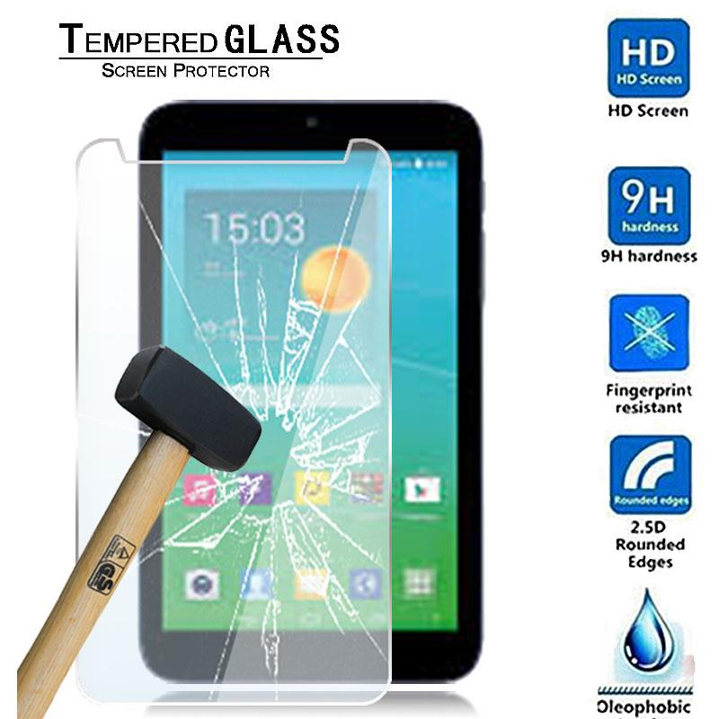 """Tablet Tempered Glass Screen Protector Cover For Alcatel OneTouch PIXI 3 7.0/"""""""
