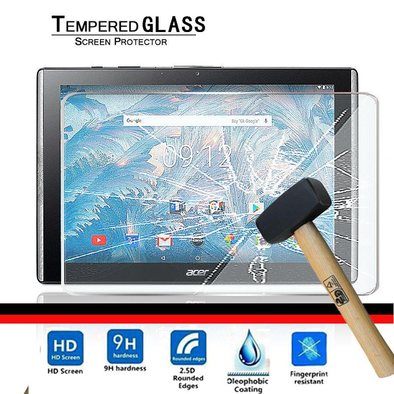 9H Tempered Glass Screen Protector For Acer Iconia One 10 B3-A40 10.1″ Tablet