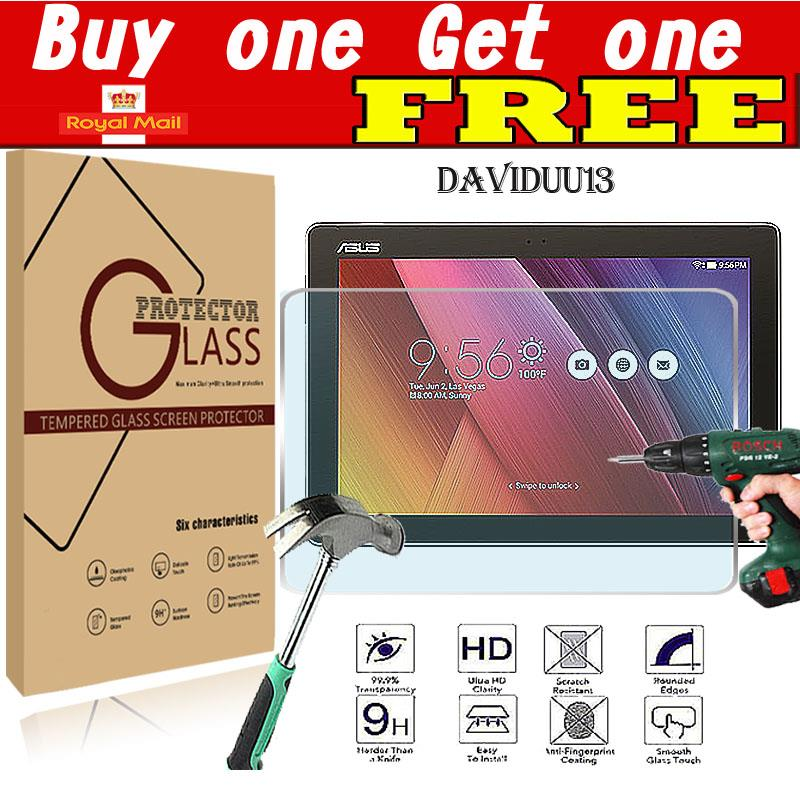 2x Genuine Gard® Tempered Glass Screen Protector for ASUS ZenPad 10 Z300//Z301