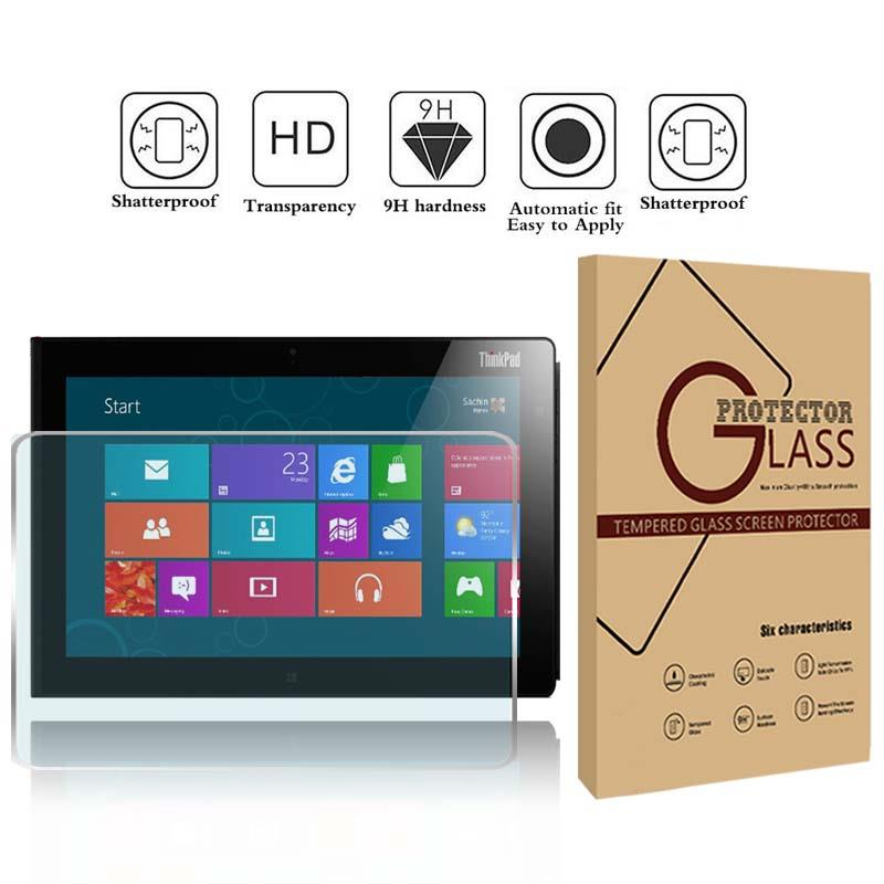 """Tempered Glass Screen Protector For lenovo thinkpad tablet 2 10.1/"""" Tablet"""