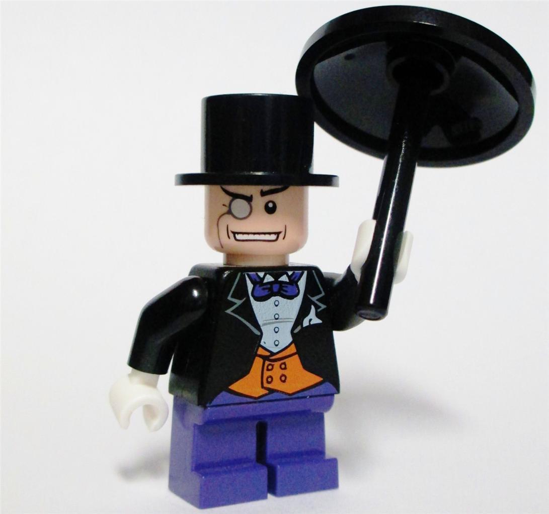 New Lego The Penguin w Umbrella Minifig Mini Figure ...