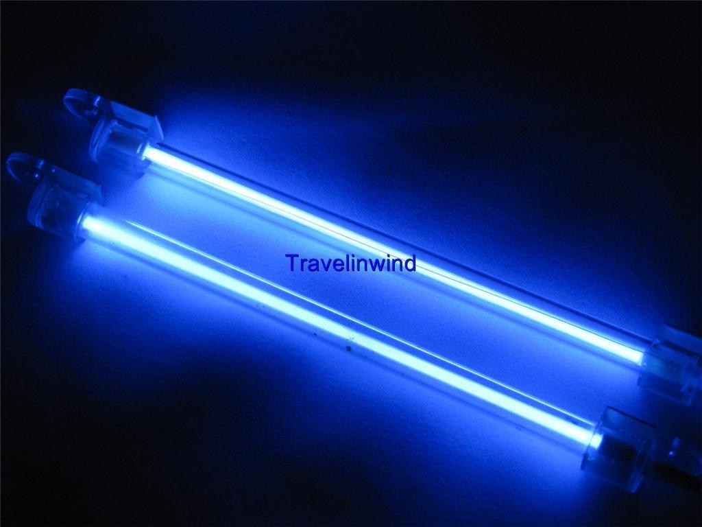 Neon Car Lights: 2X 15cm Car Auto Exterior Interior Neon Light Lamp Blue