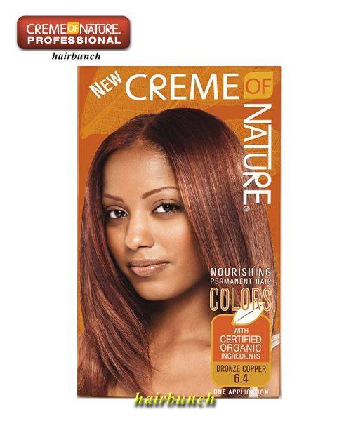 Creme Of Nature Hair Color Bronze Copper Reviews