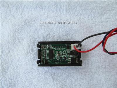 golf cart boat rv battery led voltage charge meter 12 24. Black Bedroom Furniture Sets. Home Design Ideas