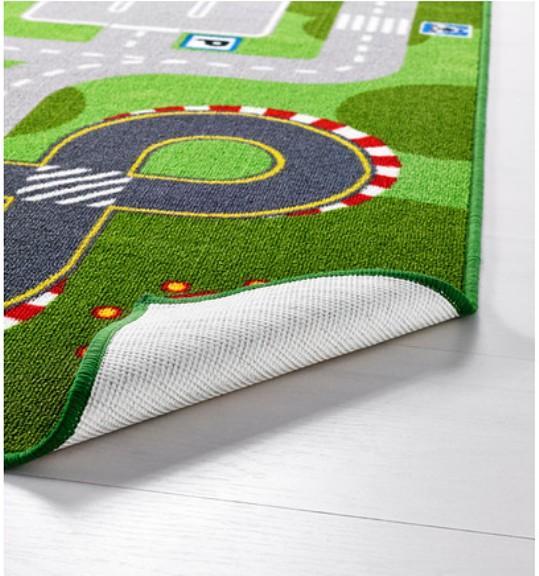 IKEA Rug Play Mat Kid's Children's Road Floor Kid Child