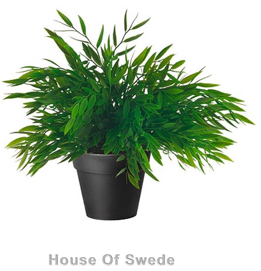 Ikea Artificial Trees: IKEA Artificial House Bamboo Potted Plant Fake Grass