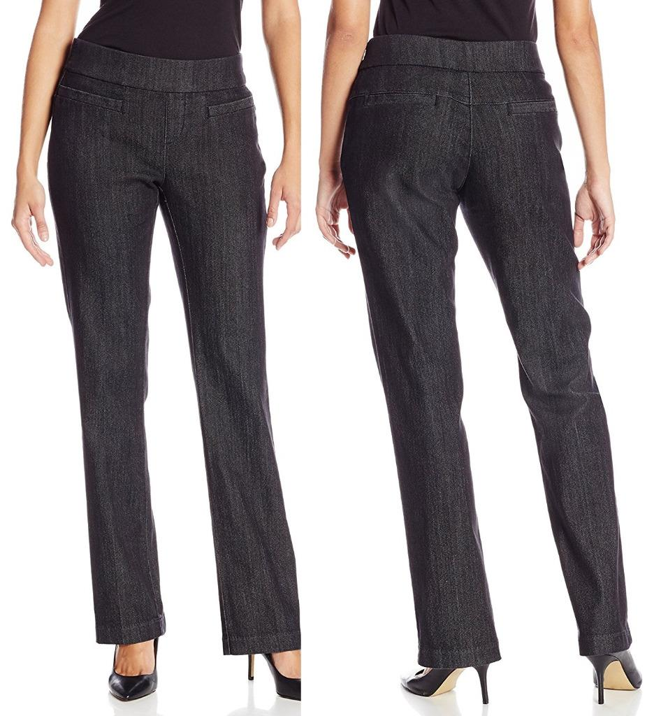 Lee Women S Natural Fit Pull On Dana Barely Bootcut Pant