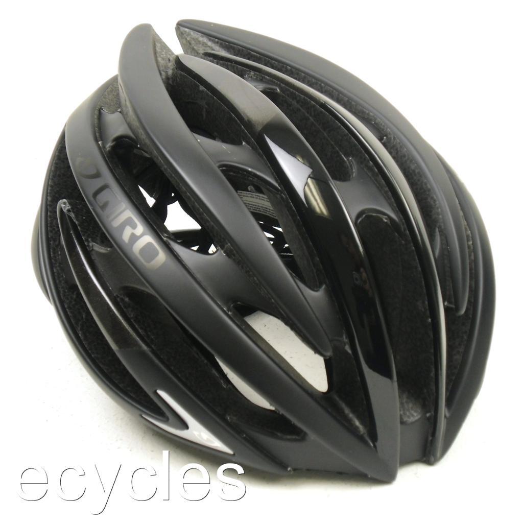 new 2013 giro aeon bicycle helmet matte black ebay. Black Bedroom Furniture Sets. Home Design Ideas